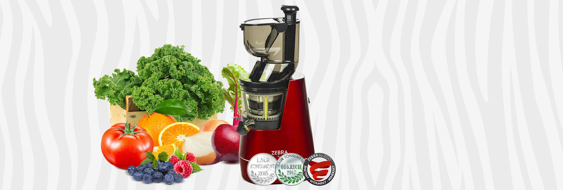 ZEBRA WHOLE SLOW JUICER